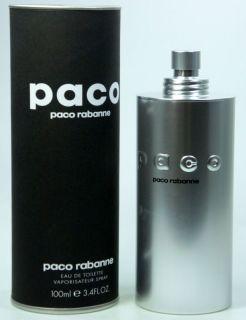 PACO RABANNE PACO 100ML EDT EAU DE TOILETTE SPRAY NEU OVP
