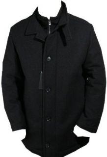 HUGO BOSS BlACK LABEL JACKE COAT COXX 54 Kaschmirwolle schwarz
