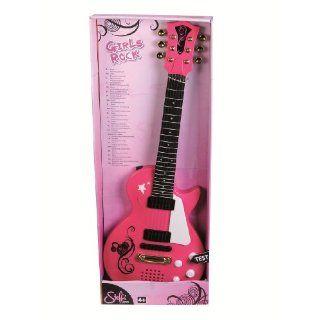 My music World, Rock gitarre in Pink, 56 cm Spielzeug