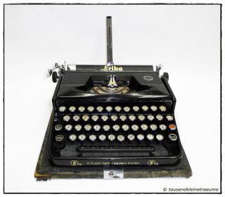 ERIKA Reiseschreibmaschine ca. 30er Jahre, Schreibmaschine, vintage