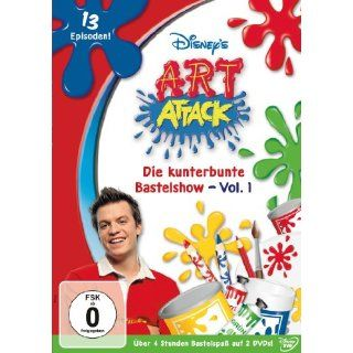 Art Attack   Die kunterbunte Bastelshow, Vol. 1 2 DVDs:
