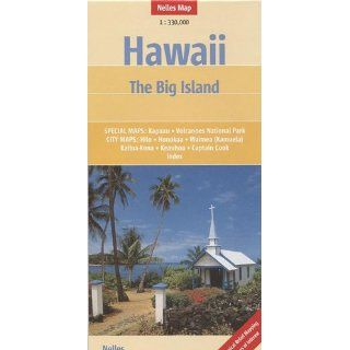 Hawaii   The Big Island 1330.000 Special Maps Kapaau, Volcanoes