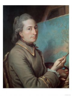Portrait of Claude Dupin (1715 86) Giclee Print
