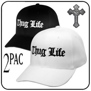 Brand New Thug Life Caps. Velcro Adjuster at Back to fit most Adults