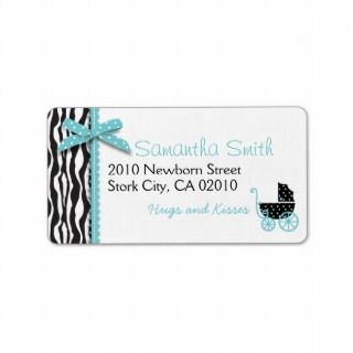 Boutique Chic Boy Address Label
