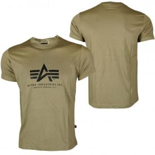 Alpha Industries BASIC T Shirt Olive(28859)