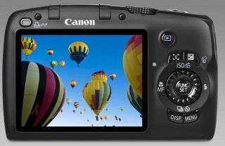 Canon PowerShot SX110 IS 9.0 MP Digitalkamera 10 X Optischer Zoom Top