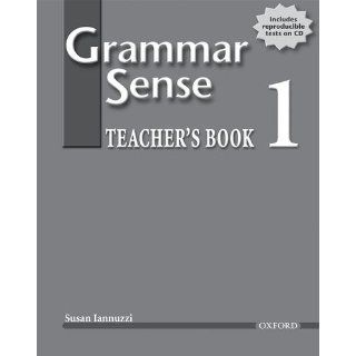Grammar Sense 1 [With CDROM] Teachers Book (with Tests CD) Level 1