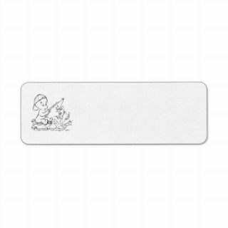 Casper Fishing Custom Return Address Label