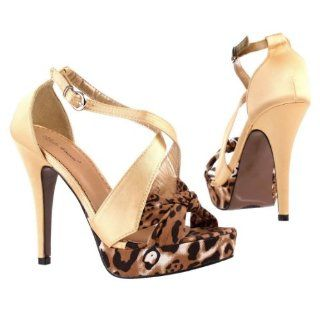 Damen Schuhe, PUMPS, PLATEAU HIGH HEELS SANDALETTEN, 7476, Satin