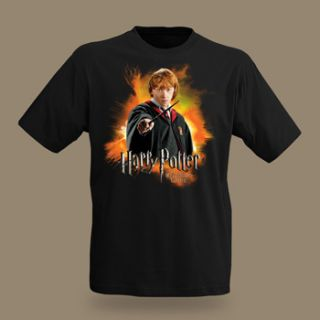 Harry Potter   Ron Weasley Kinder T Shirt, Lizenz Film Shirt zum