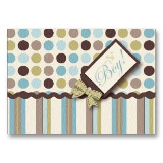 Its a Boy! Reminder Card Business Card