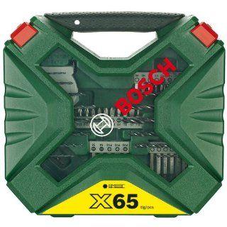 Bosch 2607010612 65 teiliges X Line Set Baumarkt