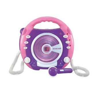 Kinder CD Player Digital Karaoke mit 2 Mikrophone: