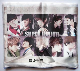 SUPER JUNIOR Cushion Pillow Cover /Pillowcase Satin Q14