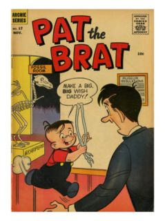 Archie Comics Retro Pat the Brat Comic Book Cover #17 (Aged) Posters