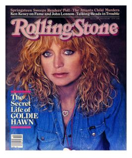 Goldie Hawn, Rolling Stone no. 338, March 1981 Photographic Print by Denis Piel