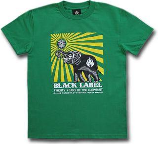 BLACK LABEL Original Skate T Shirt Kamikaze dC Skateboard