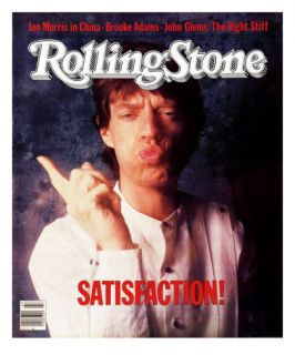 Mick Jagger, Rolling Stone no. 409, November 1983 Photographic Print by William Coupon
