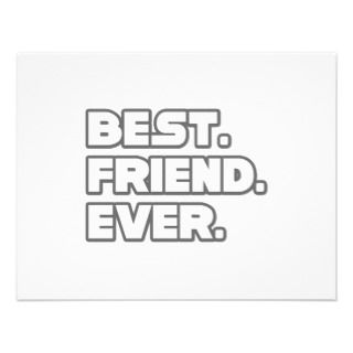 Best Friend Ever Invitations