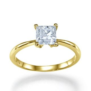 11 Carat I/VS1 Diamant Solitar Ring Brillantring 14k 585 Gelbgold