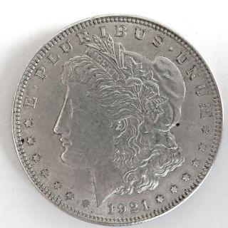 113462 Silbermünze 1 Dollar Morgan USA 1921