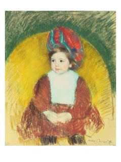 Margot, 19th Century Giclee Print by Mary Stevenson Cassatt