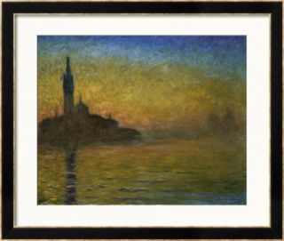 Twilight in Venice Framed Giclee Print by Claude Monet