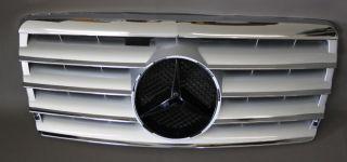 Mercedes Kühlergrill GRILL W124 93 95 CL  SILBER CHROM QUALITÄT