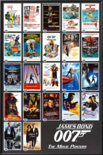 James Bond   22 Movie Posters Posters