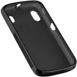 Silikon Case black f BASE Lutea 2 / ZTE Skate V960 Silicon Tasche