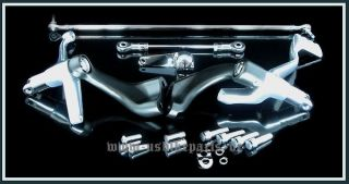 Fußrastenanlage für Harley Davidson Sportster ab 2004