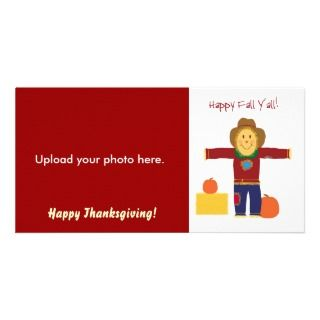 Happy Fall Yall Thanksgiving photo cards