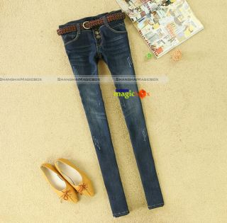 Women Fashion Fit Candy Casual Long Pants Trousers #026