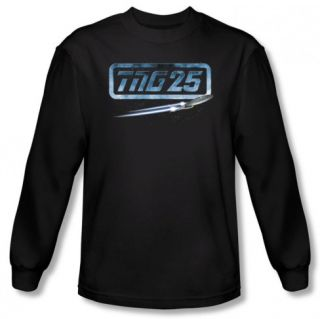 Long Sleeve Star Trek   TNG 25 Enterprise Shirts