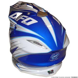 Der Warrior H1 Helm von Ufo Plast ist in Italien hergestellt.