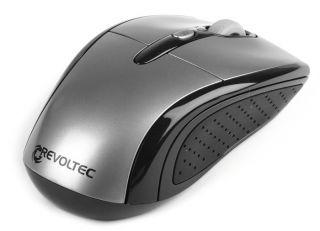 Revoltec optische Funk USB Maus 1600 dpi silber RE133 4260048814816