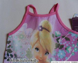 NEU Disney fairies TinkerBell Kleid Blütenmeer Gr.98 128
