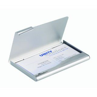 Durable 2415 Business Card Box Silber Bürobedarf