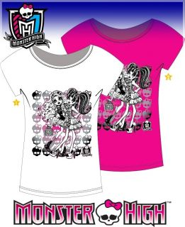 MONSTER HIGH T SHIRT TOP 122☆128☆134☆140☆146☆152