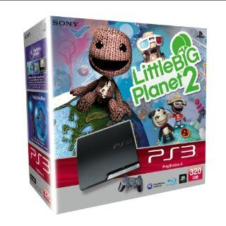Spielkonsole PS3 Slim 320 GB + Little Big Planet 2 Games