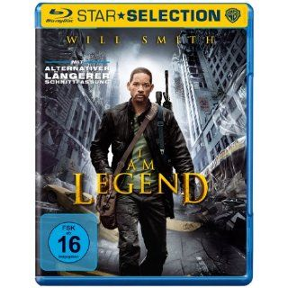 Am Legend [Blu ray]: Will Smith, Alice Braga, Thomas J