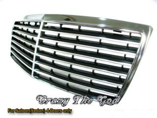 W140 92 99 S CALSS CHROME GRILLE for MERCEDES