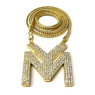 LILWAYNE DRAKE NICKI Young Money Kette Anh?nger New Gold: