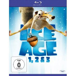 Ice Age   Box Set Teil 1, 2 & 3 [Blu ray] Carlos Saldanha