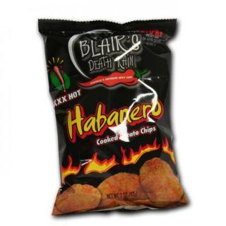 Blairs Original Habanero Chips 14 Tüten a 142 g Scharf