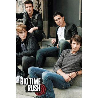 Poster Big Time Rush   steps   Größe 61 x 91, 5 cm   Maxiposter