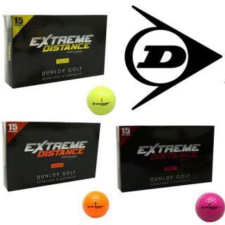 Dunlop Extreme Distance Golfbälle 15 St. Golfball unisex Golf Bälle