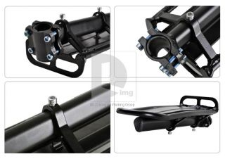 Mountain Bike/Bicycle Black Rear Carrier Rack Seat Post