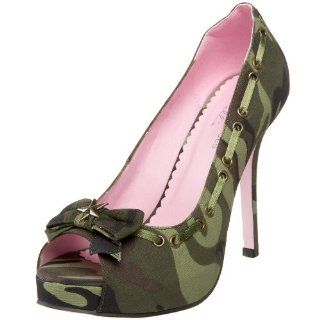 High Heels von Leg Avenue 5024 Army   Camouflage   39